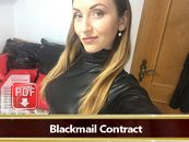 Blackmail Contract - Become my Blackmail slave